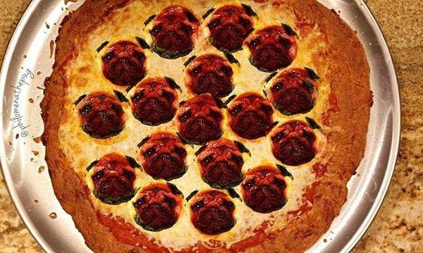 Pugeronni pizza al la Philomena 🍕 #photoshopfriday