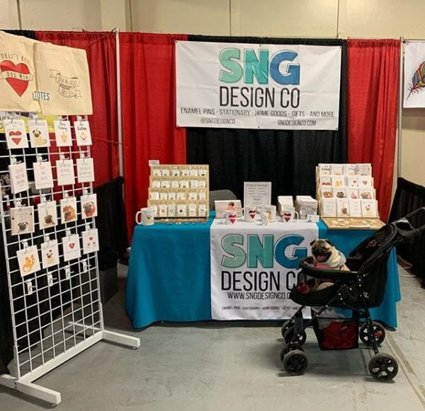 Stop by and see me today at the Atlanta Pet Expo with the @sngdesignco booth! I'll even share my snackies!